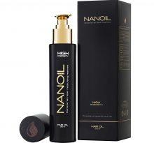 Haaröl Nanoil – an die Porosität Ihrer Haare angepasst wird
