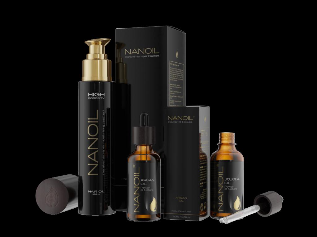 Nanoil Öle für Haare und Haut